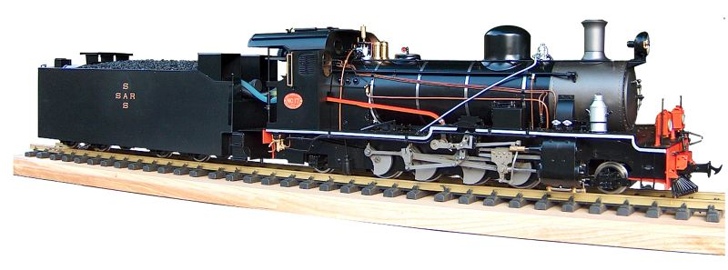 South African Railways 2-8-2 NG15