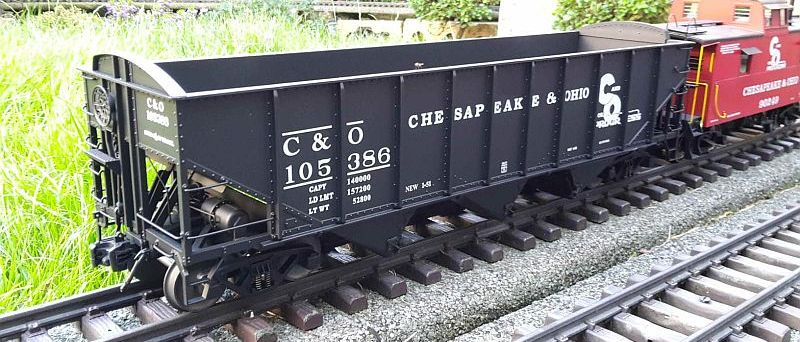C & O Hopper wagons