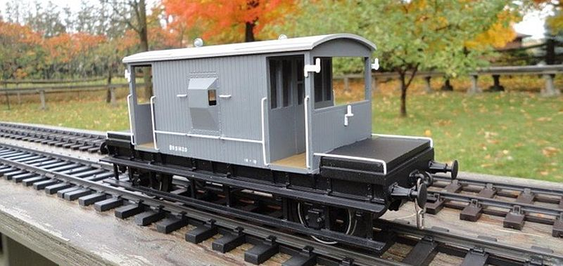 Northern Fine Scale Brake Van